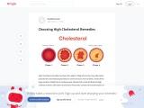 Herbal Cholesterol Treatment – Dyslipidemia Treatment Guidelines
