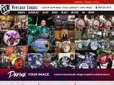 Vintage Logos Inc. produces Custom Drum Heads