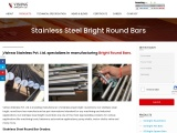 SS Round Bars | Manufacturer, Exporter and Supplier – Vishwa Stainless