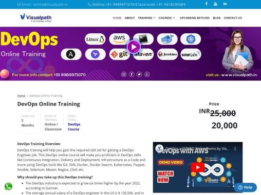 DevOps Online Training institute