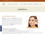 Blepharoplasty Surgery in Delhi | Upper Eyelid Surgery at Low Cost