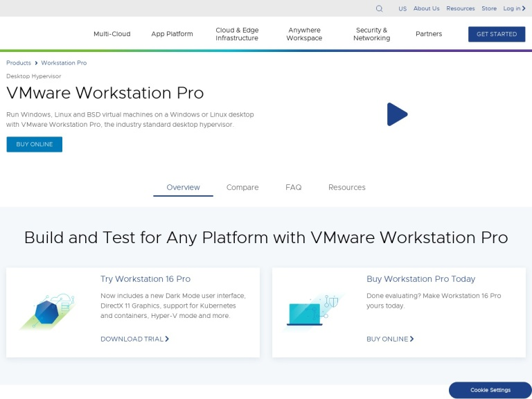 VMware Workstation Coupons and Discounts March 2021 screenshot