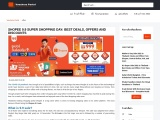 SHOPEE 9.9 SUPER SHOPPING DAY: BEST DEALS, OFFERS AND DISCOUNTS