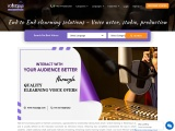 End to End elearning solutions – Voice actor, studio, production