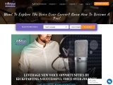Want To Explore The Voice Over Career? Know How To Become A Pro!