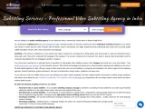 Subtitling services – Professional Video Subtitling Agency in India