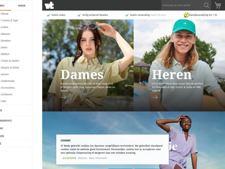 Vtmode.nl screenshot