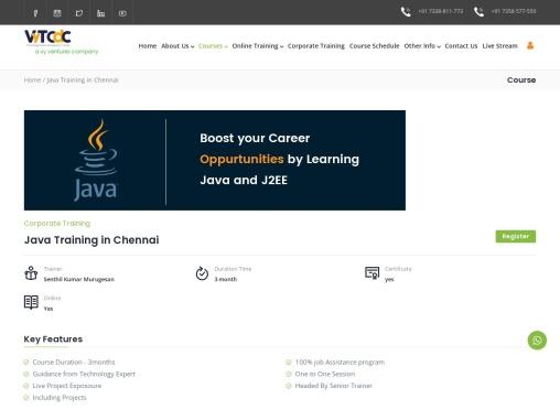 Java Online Training – VyTCDC