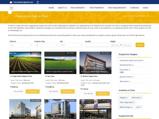 Commercial Plot For Sale in Pune