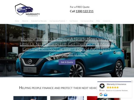 Extended New Car Warranty Insurance,Used car warranty australia