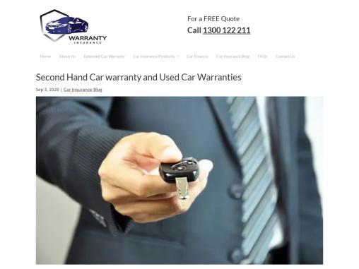 Second Hand Car Warranty,Used Car Warranties