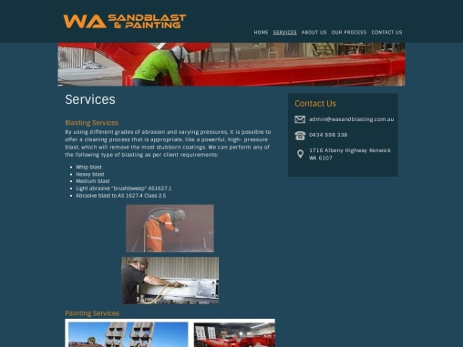 Abrasive Sandblasting, Industrial Painting and Protective Coatings Services