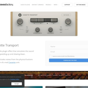 Cassette Transport - Wavesfactory