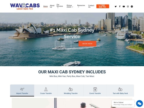 Maxi Taxi Sydney | Maxi Cab Sydney