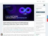 Agile Software Development Methodology Explained: Definition, Types, How It Works