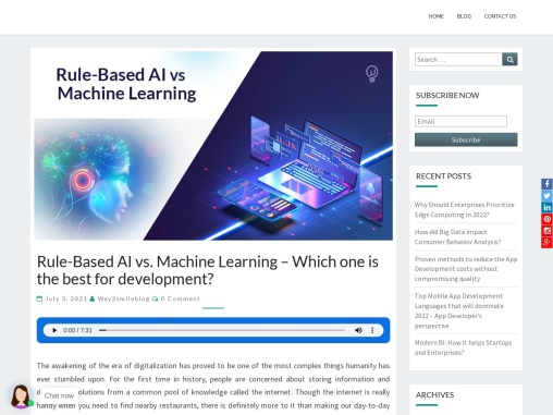 Rule-Based AI vs. Machine Learning – Which one is the best for development?