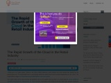 The Rapid Growth of the Cloud in the Retail Industry
