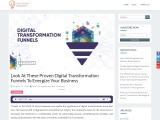 Look At These Proven Digital Transformation Funnels To Energize Your Business