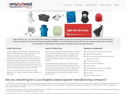 Contract Sewing Los Angeles | Clothing Manufacturing Company in Los Angeles