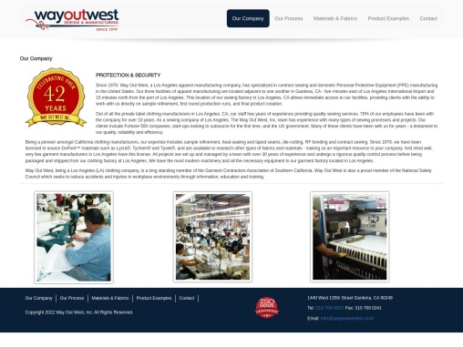 Garment Factory Los Angeles CA | Clothing Manufacturing Company in Los Angeles