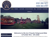 We Are Tricycle – Funfair And Fairground Rides And Games For Hire