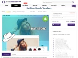 Hat Store Shopify Templates | Hat Store Shopify Theme