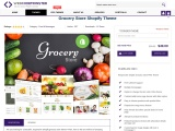 Grocery Store Shopify Template | Grocery Shopify Theme