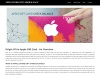 Check Apple Store Gift Card Balance || Apple Store Balance