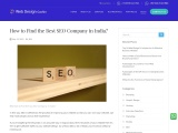 How to Find the Best SEO Company in Kerala, India?