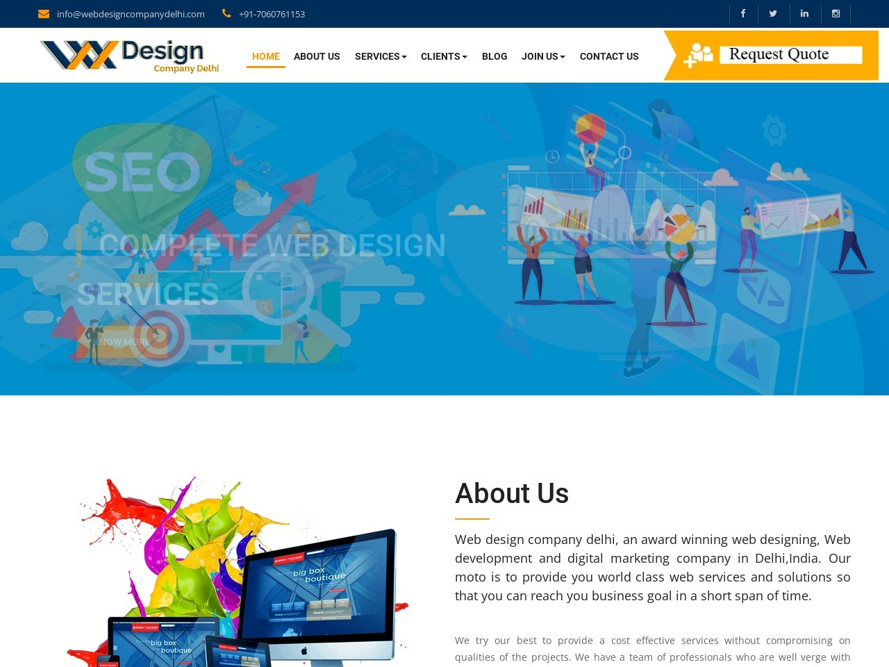 Web design company near me