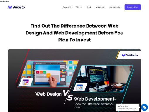Web Design Vs. Web Development- Know The Difference Before You Invest