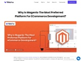 Why Is Magento The Most Preferred Platform For eCommerce Development?