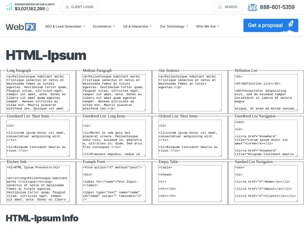 https://www.webfx.com/web-design/html-ipsum/