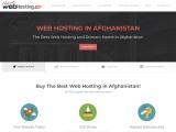 Hosting in Afghanistan – webhosting.af