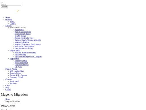 Magento 2 Migration Service, Magento 1 To Magento 2 Migration – Webinfosys
