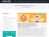 Magento Mobile App Development, Ecommerce App Development Company