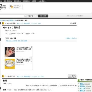 接客とは - Weblio辞書