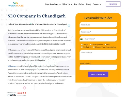 Hire Top seo company in chandigarh