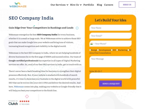 Boost Traffic on your website with Best SEO Company in India