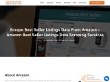 Amazon Best Seller Listings Data Scraping Services