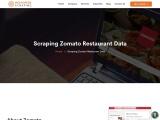 Scrape Zomato Restaurant Listing Data | Zomato Web Scraping