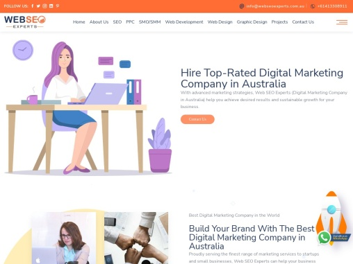 Australia's No.1 Digital Marketing Company – Web SEO Experts