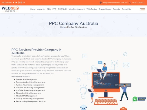 Hire The Best PPC Company in Australia | Web SEO Experts