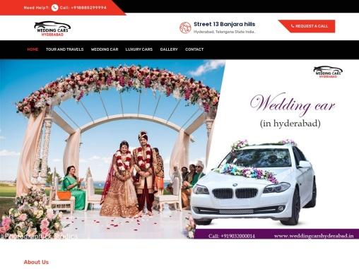 Wedding cars Hyderabad finest luxury wedding cars Hyderabad