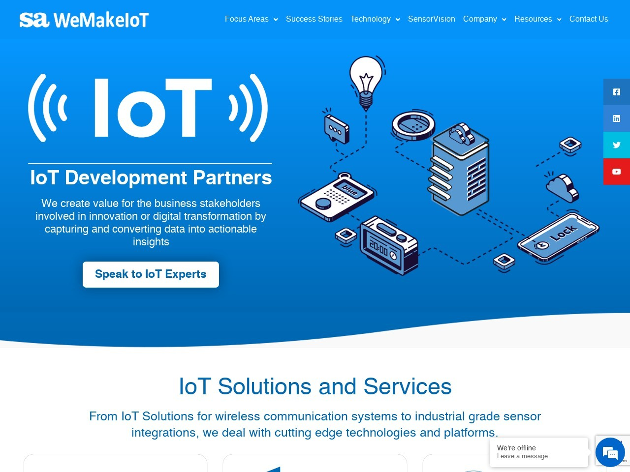 IoT solutions & service providers, IoT company