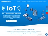 Visualize and display IoT device data User and device management Alerts and notifications