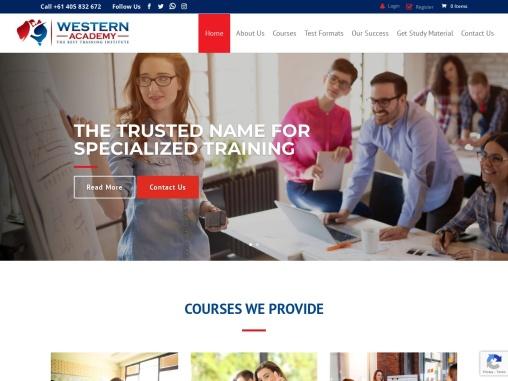IELTS Classes, PTE Training, NAATI Coaching Institute – Western Academy Australia