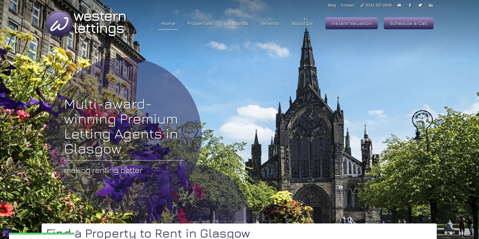 Preview of https://www.westernlettings.co.uk