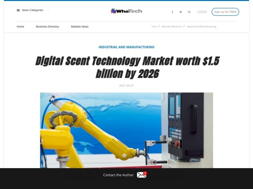 North America is leading the digital scent technology market in 2026