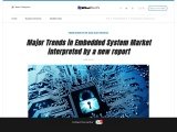 Major Trends in Embedded System Market interpreted by a new report